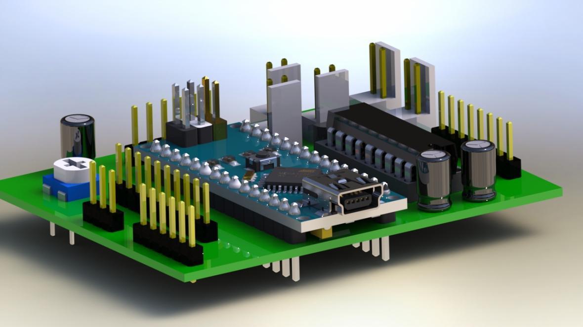 پژوهشگران قطعات الکترونیکی پیچیده سه بعدی ساختند