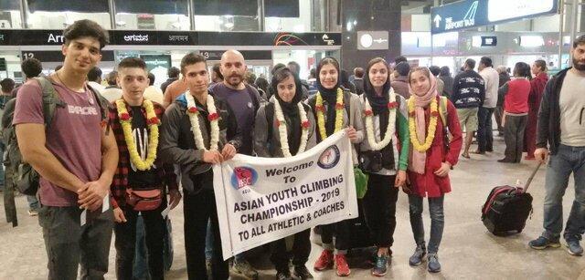 صعود سنگنوردان نوجوان ایران به فینال مسابقات سنگنوردی قهرمانی آسیا
