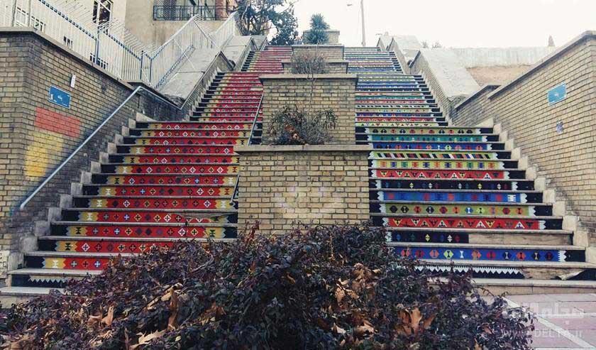 این پله ها جان می دهند برای عکاسی!