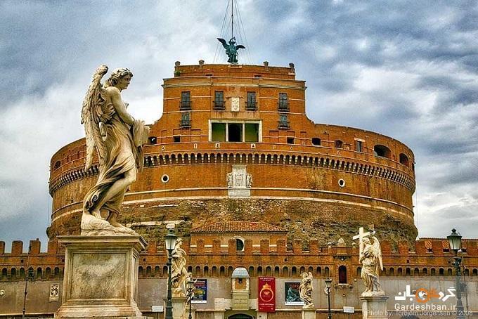 نمادی زیبا از خاتمه یک بیماری خطرناک در موزه رم