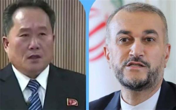 وزیر خارجه کره شمالی آغاز به کار امیرعبداللهیان را تبریک گفت