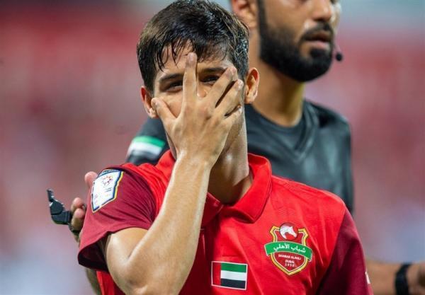 لیگ امارات، دبل یک نیمه ای قایدی، شکست شباب الاهلی را به پیروزی تبدیل کرد
